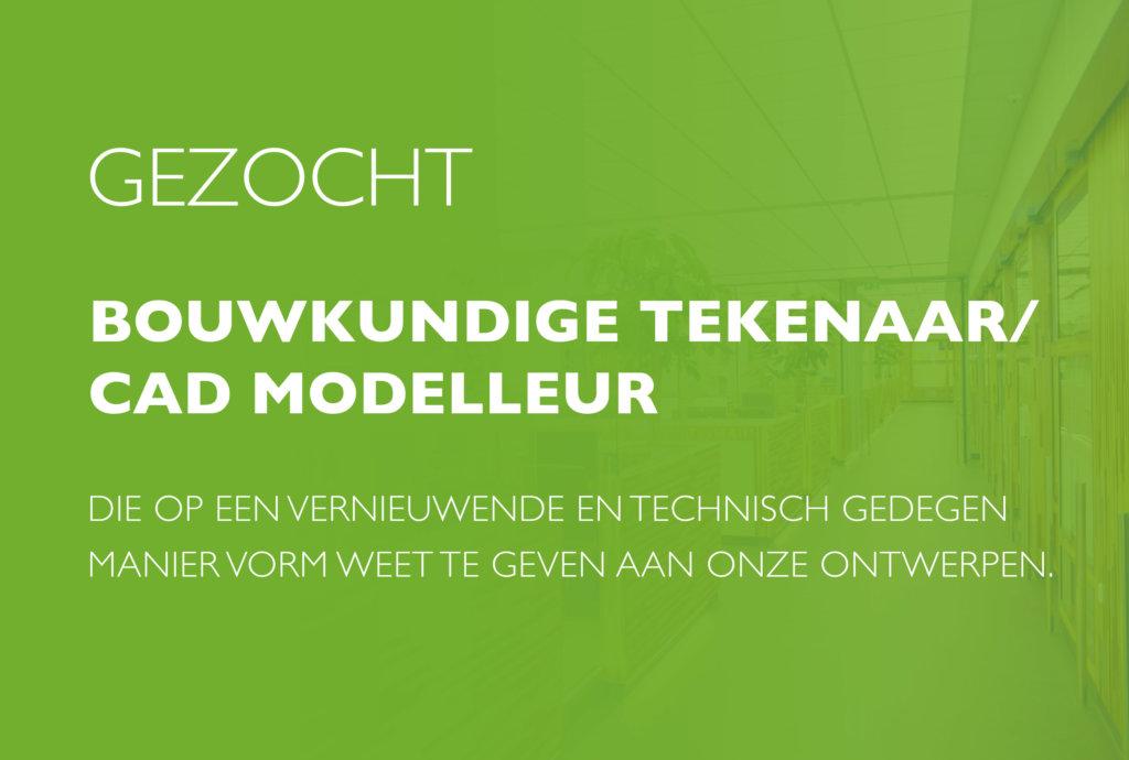 Vacature Bouwkundige tekenaar / CAD modelleur